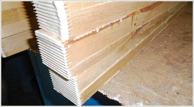 木材拼板前为什么要陈放干燥